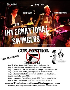 The International Swingers: May 2013 Live Shows